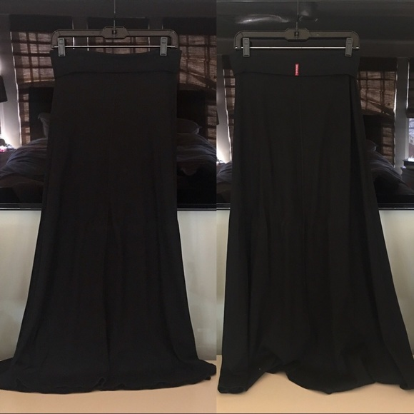 Hardtail Dresses & Skirts - Hardtail black cotton long skirt